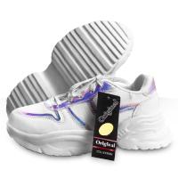 فروش ویژه کفش سفید اسپرت دخترانه