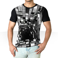 تیشرت سه بعدی Blocks