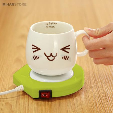 صفحه گرمکن لیوان برقی , Mug Warmer Electric for Desk , پد گرمکن لیوان , صفحه گرمکن برقی ,