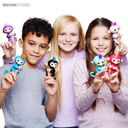خرید پستی ربات میمون بند انگشتی