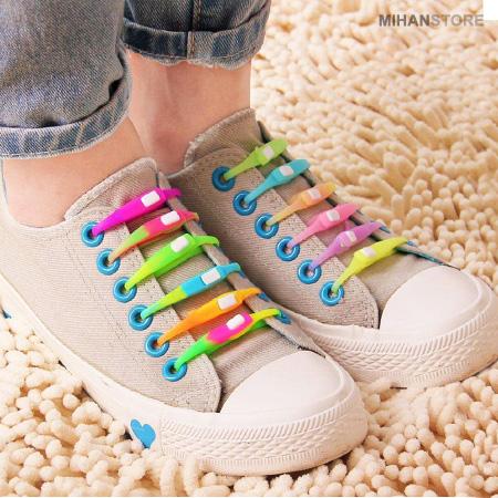 خرید بند کفش سیلیکونی